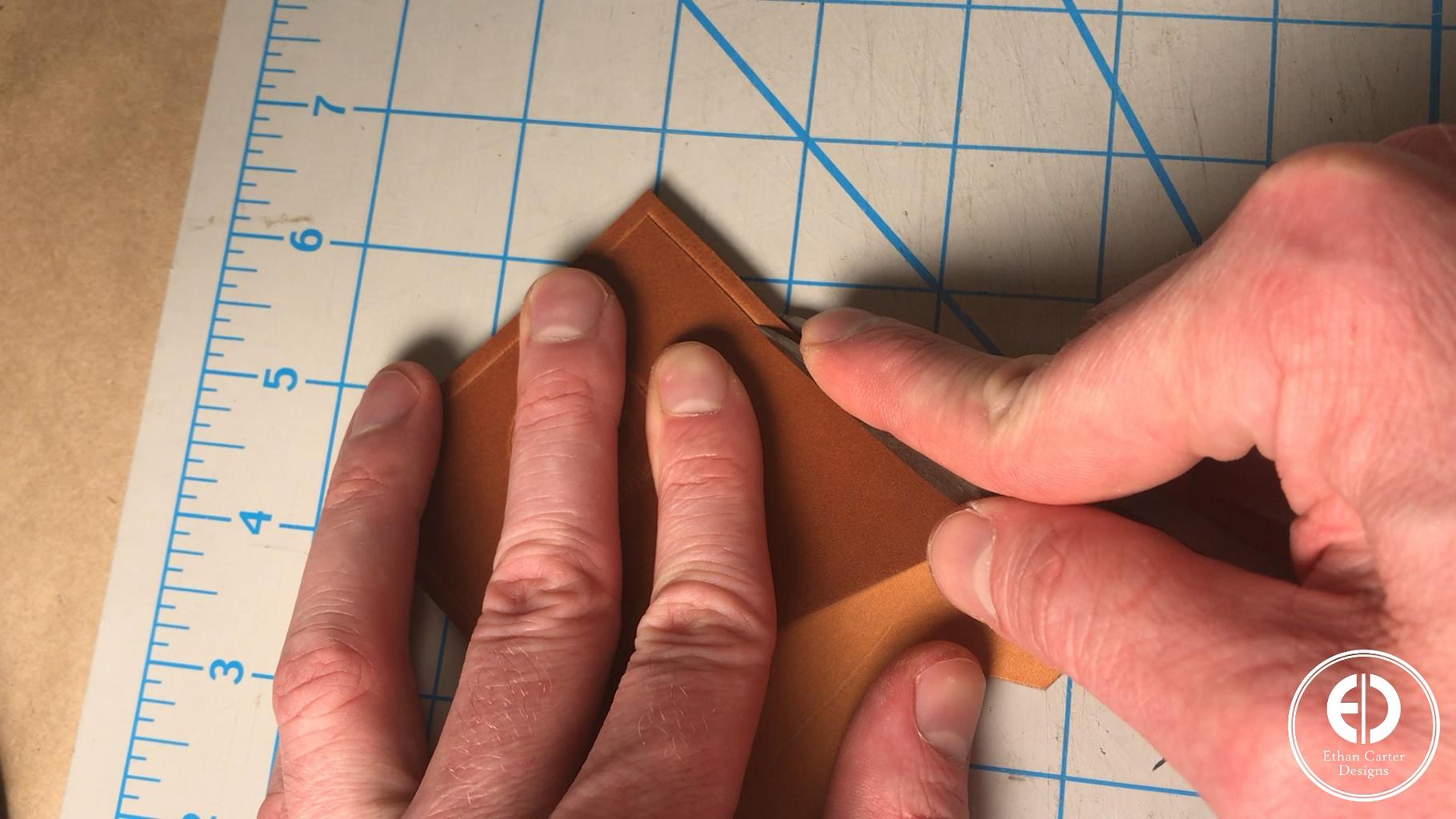 Making the Stitching Holes