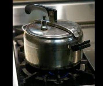 Sterilizing Water in a Pressure Cooker
