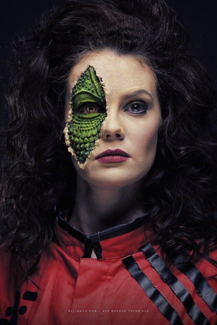 The V Series 1983 Reptile Diana - SFX Makeup Tutorial