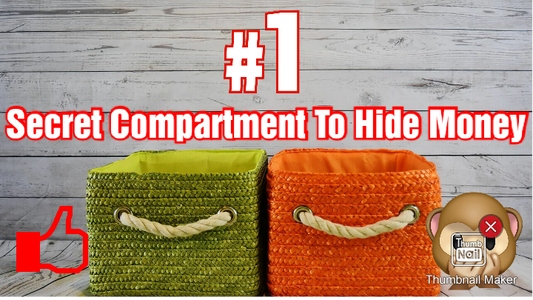 An Easy-to-do Secret Compartment to Hide Your Money