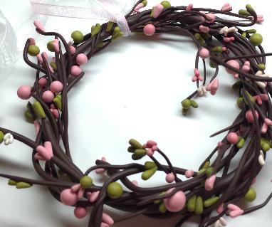 DIY Spring/Easter Wreath- Polymer Clay (Fimo) Tutorial