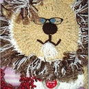 Lion Brand Challenge-Lion Christmas Stocking