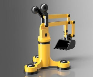 Digger 2.0 - Childrens Toy