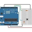 Working With a LED and a Push Button Using Arduino in TinkerCAD