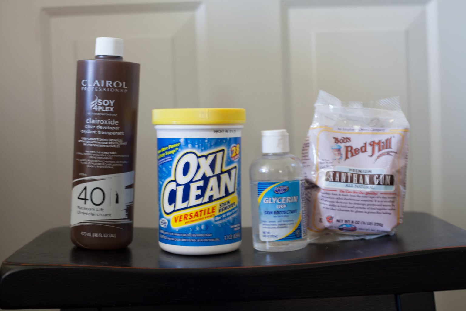 Ingredients for and Making the Retr0bright