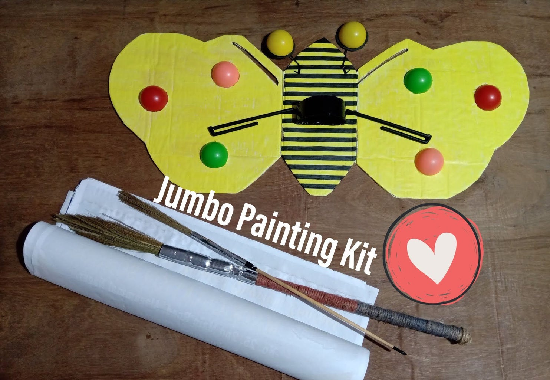 #Picassomania: Jumbo Painting Kit!