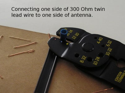 """""""Lace"""" the Wire Onto Antenna Form"""