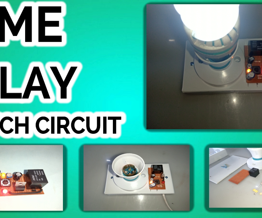 Time Delay Switching CIRCUIT