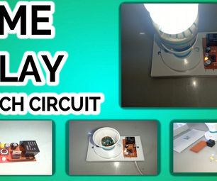 TIME DELAY SWITCH CIRCUIT