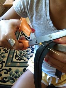 Prepping the Zipper
