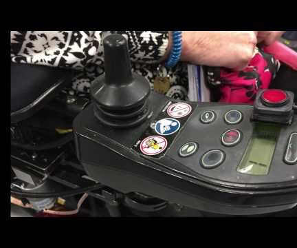 Awesome Hack for Power Wheelchairs - Automatic Controller Mount