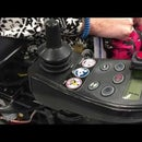 Awesome Hack for Powered Wheelchairs - Automatic Controller Mount