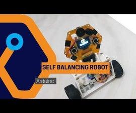 Self Balancing Robot From Magicbit