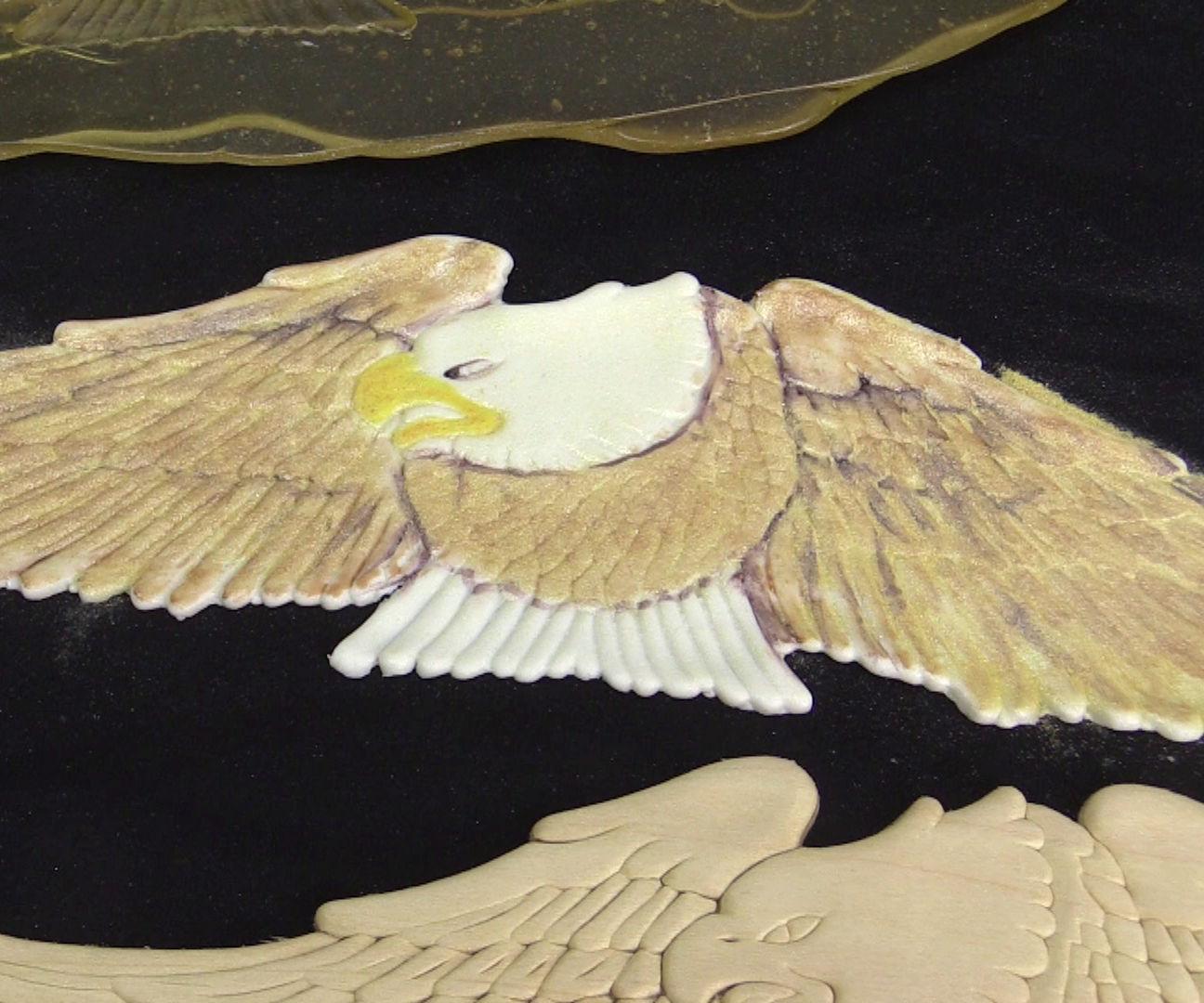 Huge Fondant Eagle