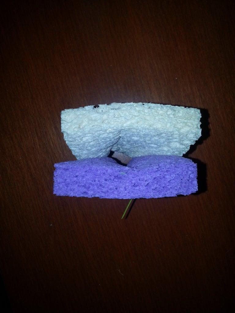 Reposition the Sponge