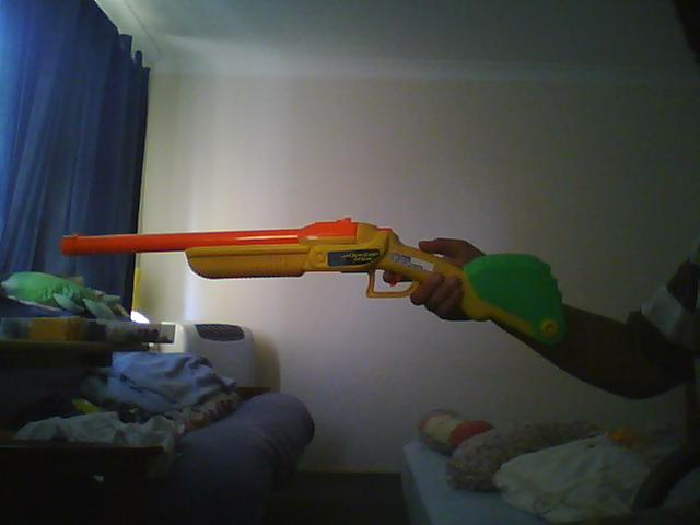 Air blasters Double shot airsoft hack!