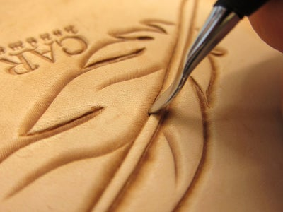 Carving the Feather