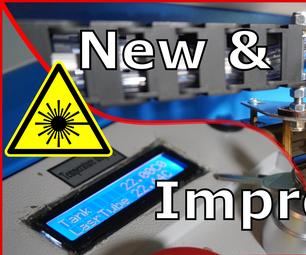 K40激光切割机修改:空气协助,激光指针,激光管热保护