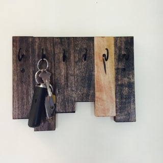 Scrap Wood House Numbers