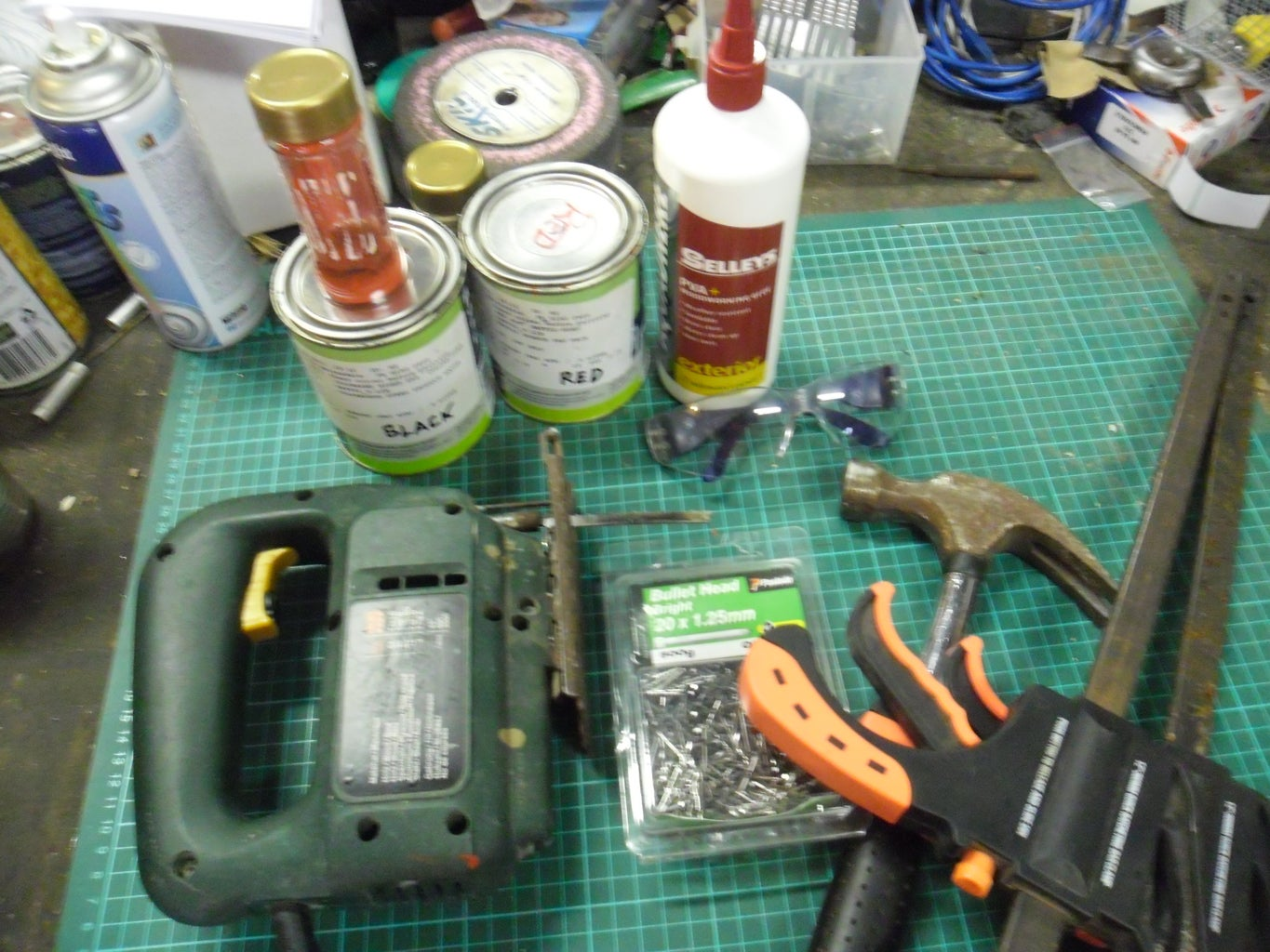 Materials and Tools Required