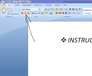 """Microsoft Office Word """" Home"""" Explanation"""