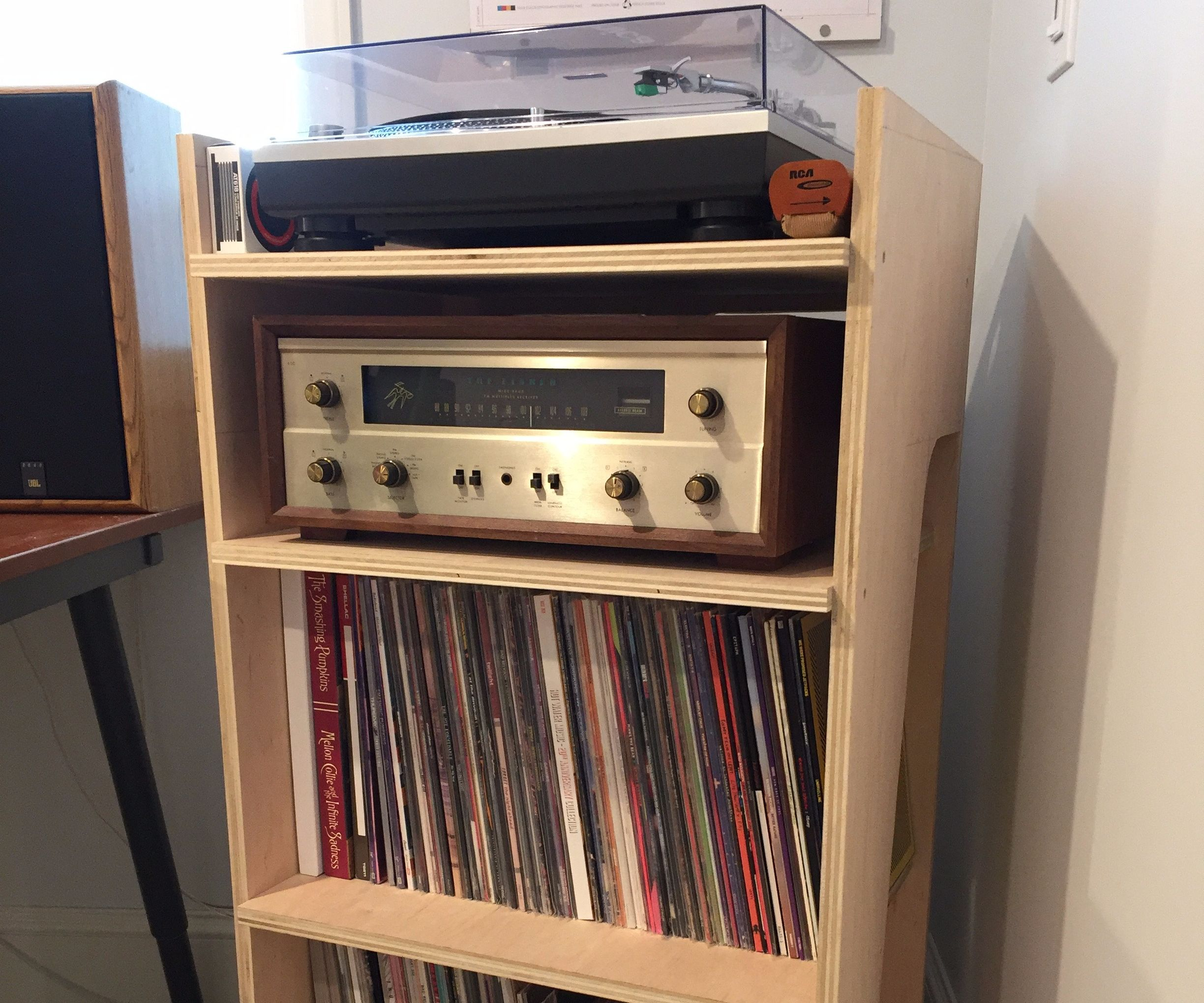 Turntable and Record Stand
