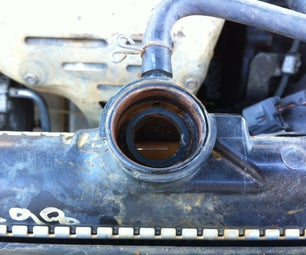 Resurface a Damaged Radiator Cap Radiator Seal Surface