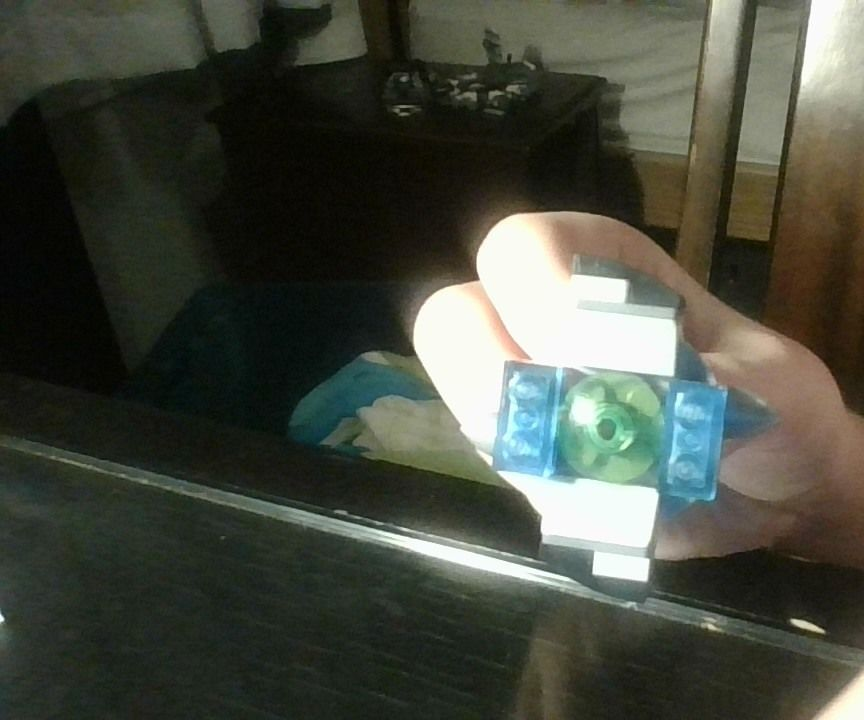 Lego Beyblade and Launcher