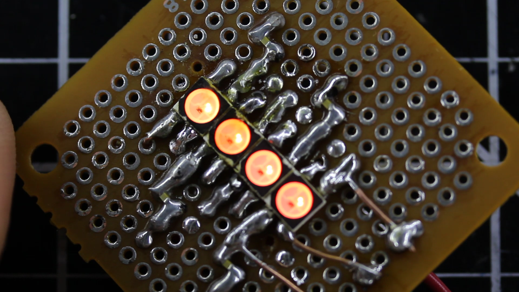 Experiment: Successful SMD LED Circuit
