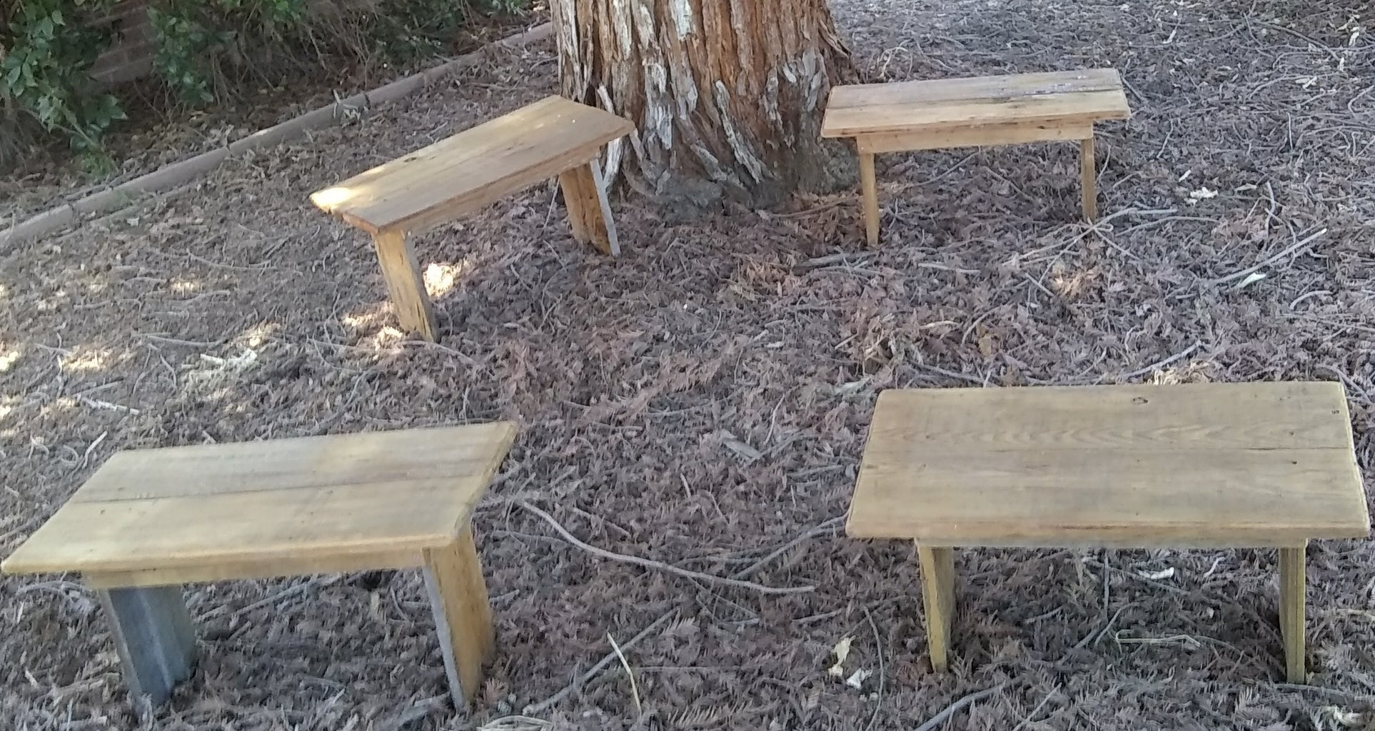 Simple Shaker-Style Bench - From Redwood Fencing
