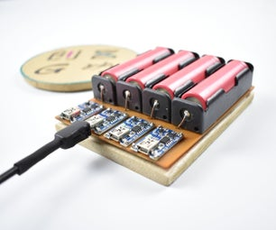 How to Make 18650 Battery Charger With TP4056
