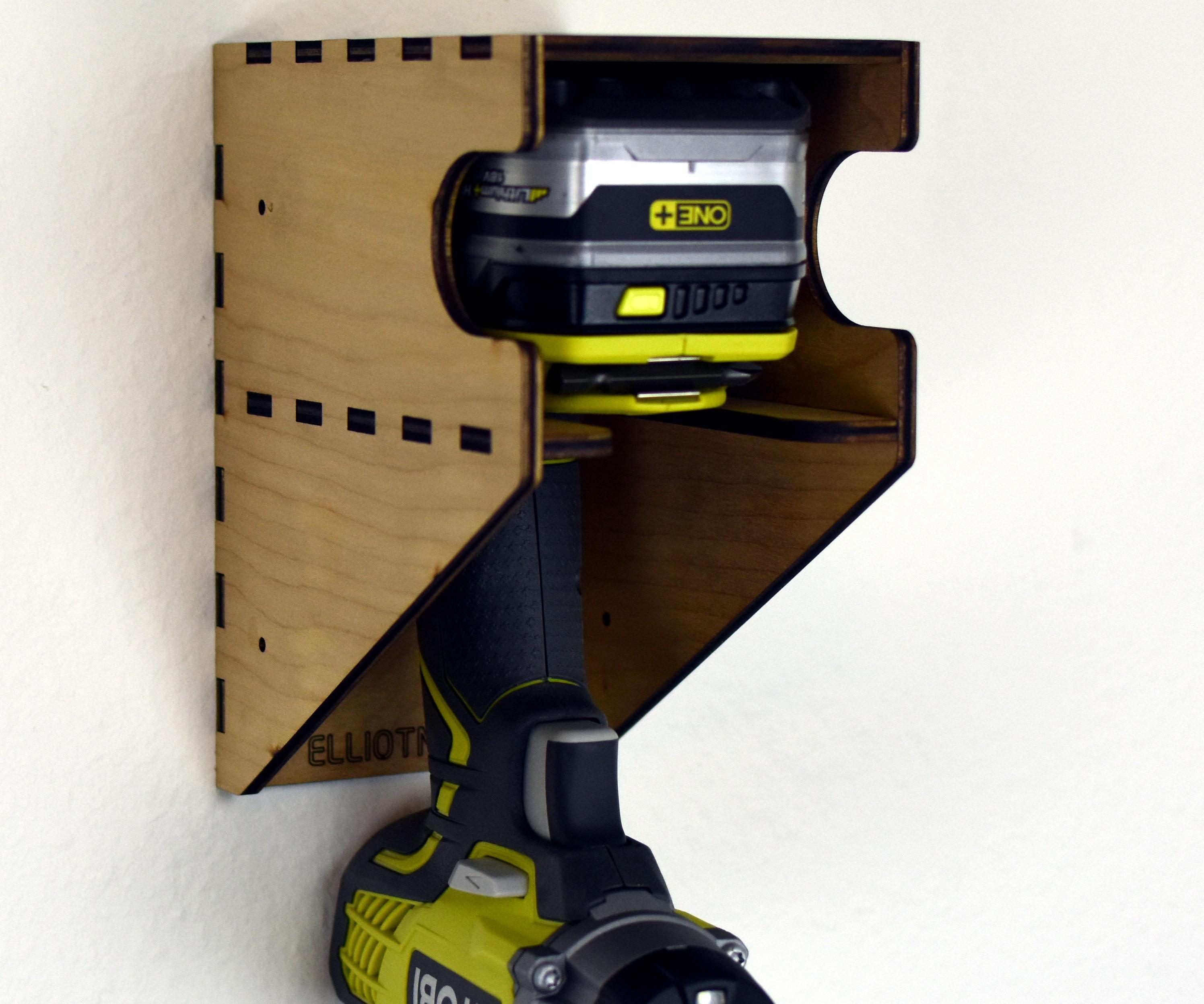 Laser Cut Drill Holder