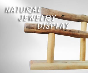 Natural Jewelry Display Stand