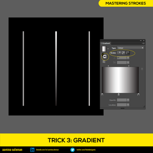 Trick 3: Gradient — Adding Color Transitions to Stroke