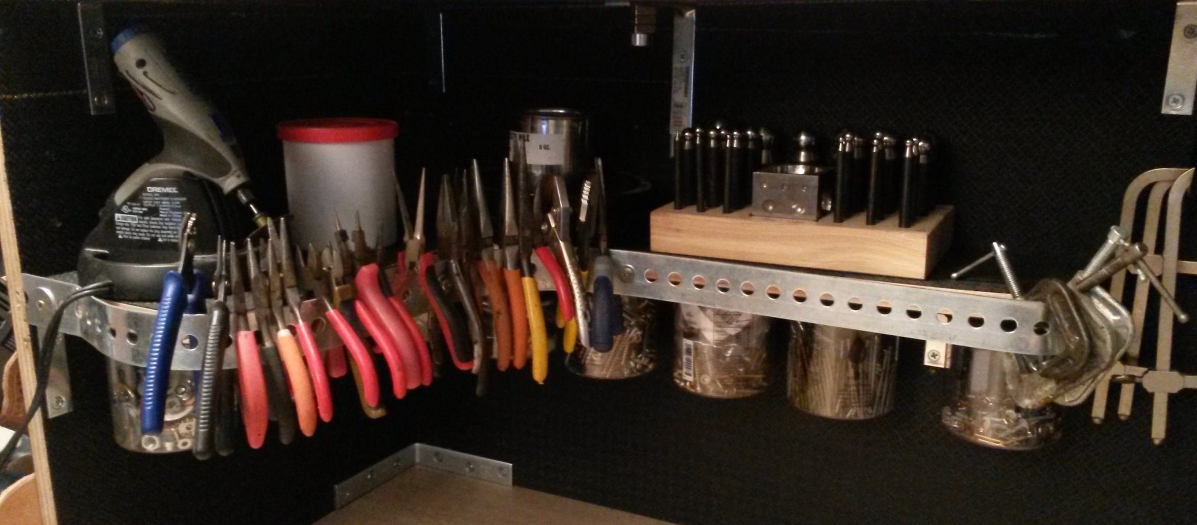 D: Tool Track and  Peg Board Spacers