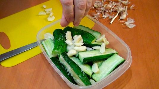 Add the Garlic