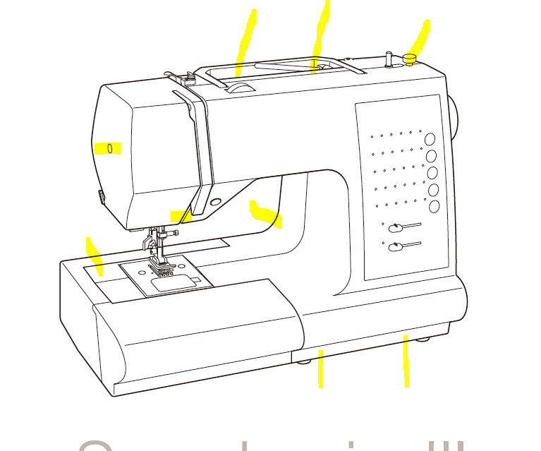 Repair a Singer-sewing-machine With Unsynchronus Needle