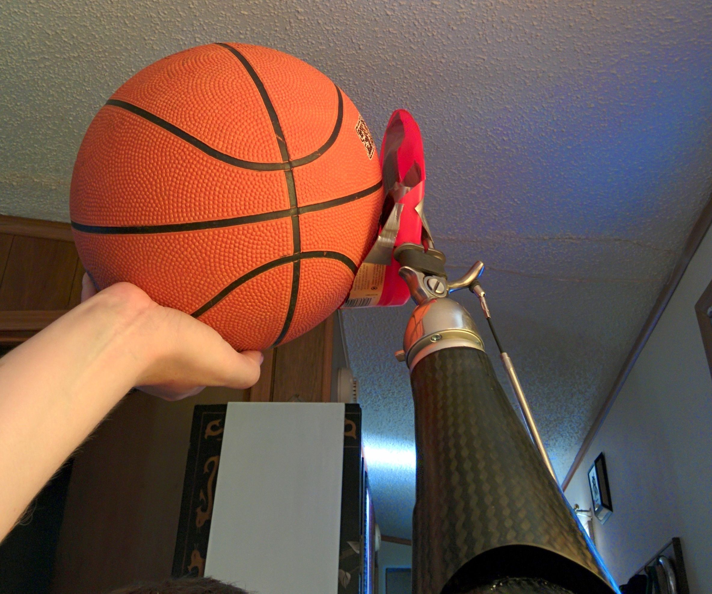 cheap prosthetic hand for playing basketball