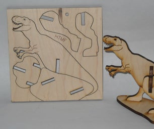 Small and Simple Dinosaur Puzzle