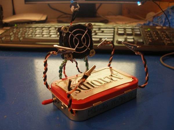 Make an Altoids Tin Portable Helping Hands (with Fume Extractor)