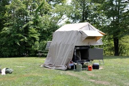 Homebuilt Camper Trailer