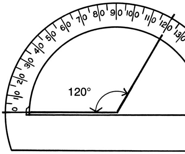 Protractor - Measuring Angles
