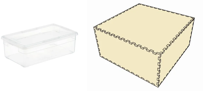 Fabricación De Caja De Soporte