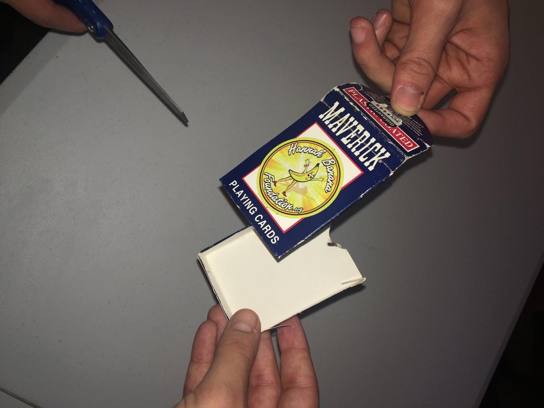 Cut Card Box