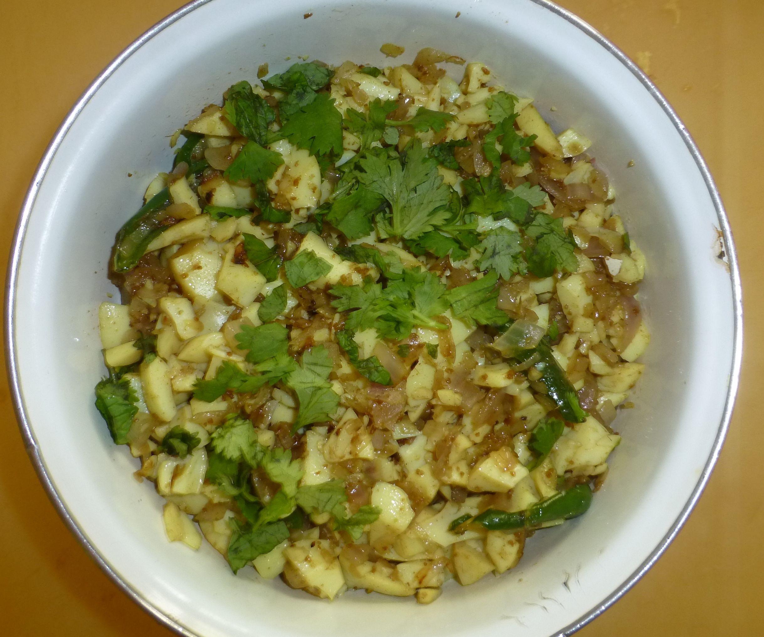 Tasty Stir-fried Boiled Egg Whites