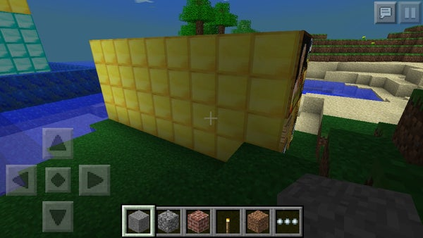 How to Make a Guard Entrance in Minecraft Pe