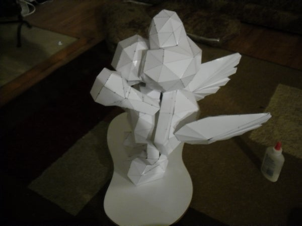Making a Papercraft (lifesize?) Koopa Troopa
