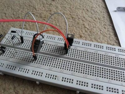 Adding Capacitor