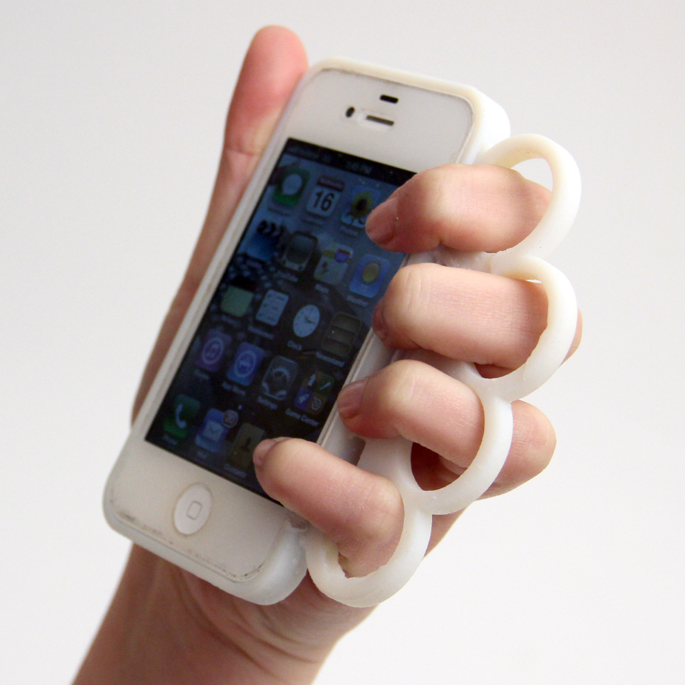 knuckleduster phone case