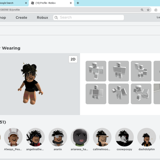 Roblox Girl Clothes Names How To Look Popular In Roblox 9 Steps Instructables